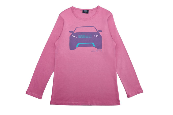 Land Rover Girl's Long Sleeve Evoque T-Shirt - Various Sizes